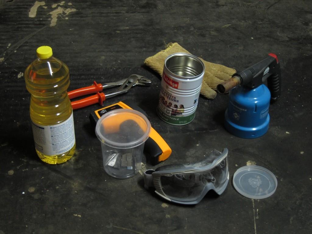 Starter Kit de trempe à l'huile.