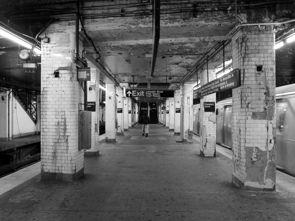 Chamber Street Subway Station