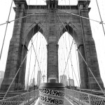 Brooklyn bridge and drip coffee from Brooklyn Roasting Cie