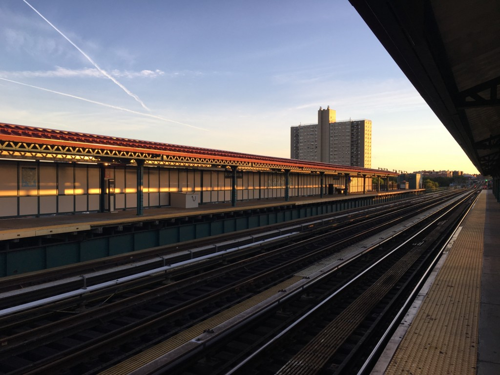 Bronx subway station